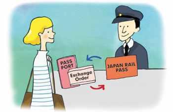 Обмен ваучера JR Pass